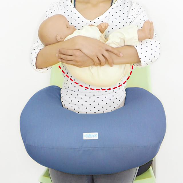 授乳用クッションの使い方